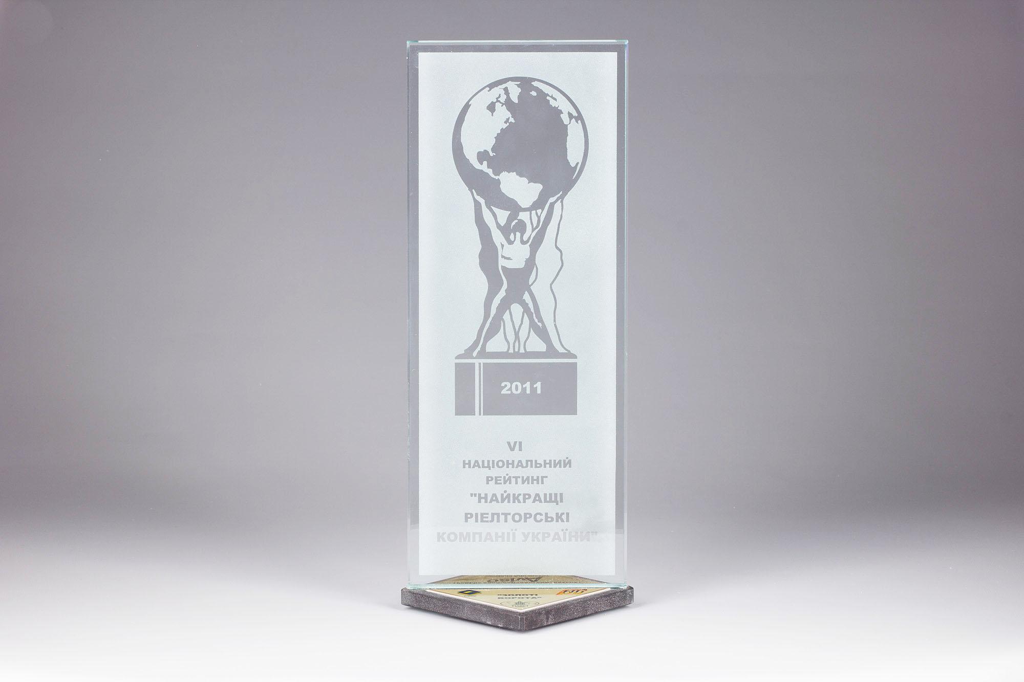 Риелторская Компания «Золотые Ворота» — Победитель VI Национального рейтинга «Лучшие риэлторские компании Украины»